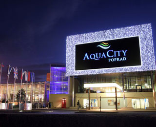 Hotel AquaCity Mountain View**** Poprad